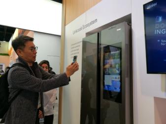 被关注才是重点 中国智能冰箱仅海尔讲英语成CES交互中心